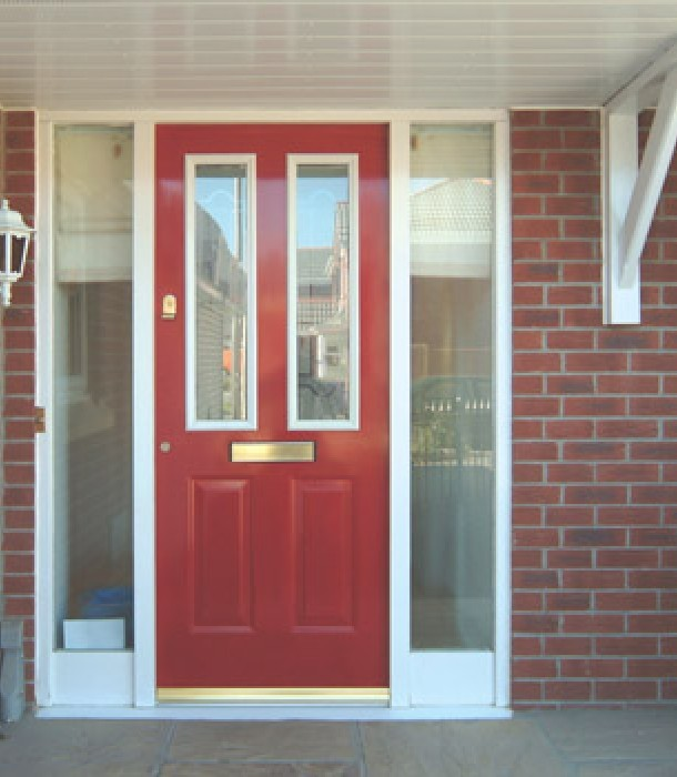 Our composite doors come in seven colours red green blue black & All Weather Windows | Composite Doors in Leicester